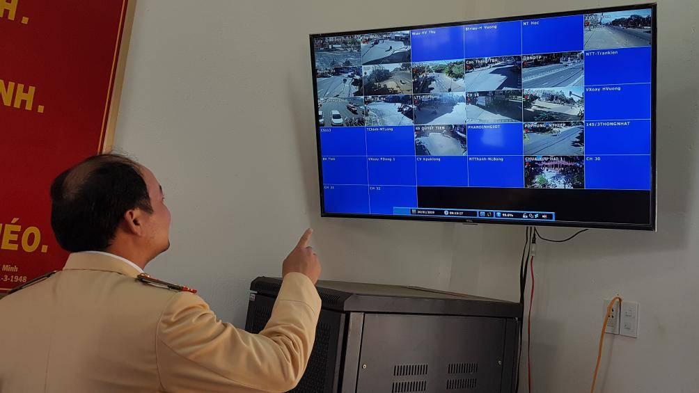 """Gia Lai """"phạt nguội"""" vi phạm giao thông qua hệ thống camera an ninh, bắt đầu từ tháng 2/2019"""