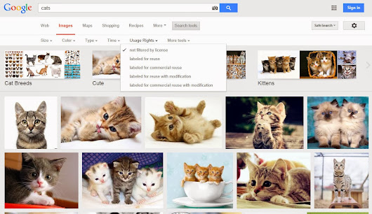 Google Image Search Usage Rights Filter Now Front and Center