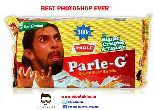 Ishant sharma funny face photoshop