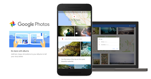 Smarter Albums arrive on Google Photos