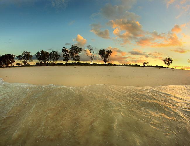 Xvlor Mananga Aba Beach is dawn and dusk coastline on Sumba Island