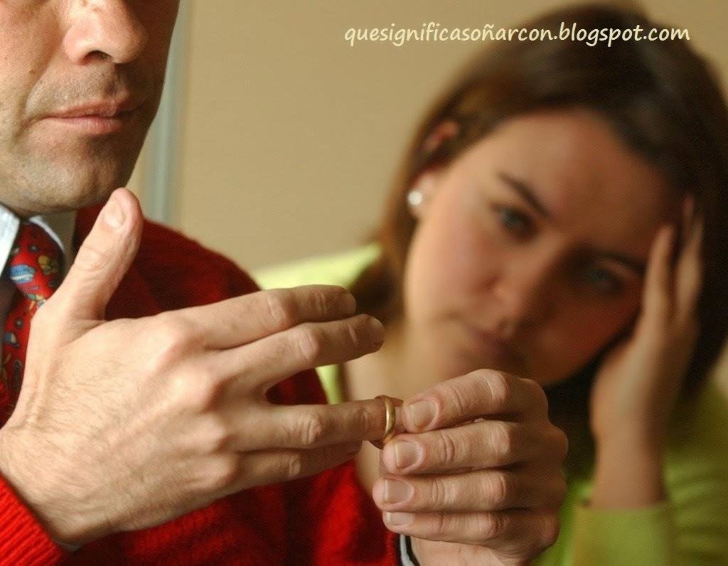 QUE SIGNIFICA SOÑAR CON DIVORCIO - Que significa soñar con divorciarse - Significado de los sueños