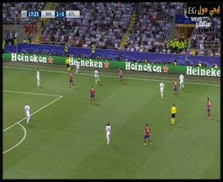 اهداف مباراة ريال مدريد واتلتيكو مدريد نهائي دوري أبطال أوروبا + ركلات الجزاء كاملة