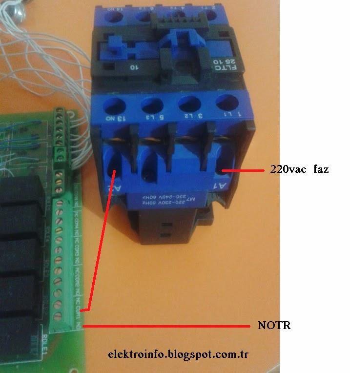 röle relay contactor