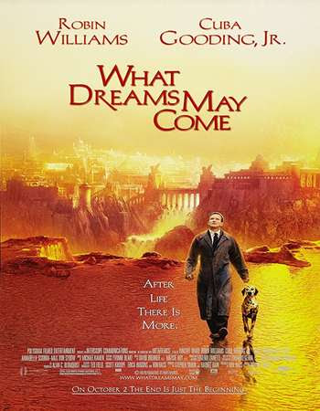 Poster Of What Dreams May Come In Dual Audio Hindi English 300MB Compressed Small Size Pc Movie Free Download Only At worldfree4u.com