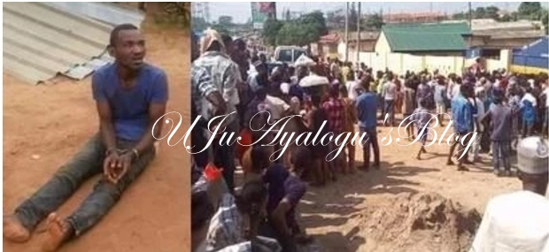 Shocking! Pastor kills 7-year-old boy in Lagos, buries his head on church's altar (photos)