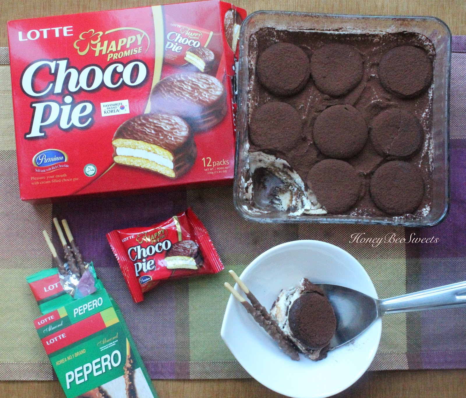 Lotte Choco Pie Recipe Marshmallow 168g A Delicious And Yet Simple To Make Tiramisu Dessert Made Using The Pies