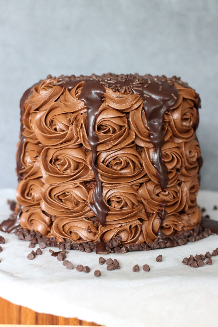 simple chocolate overload cake recipe