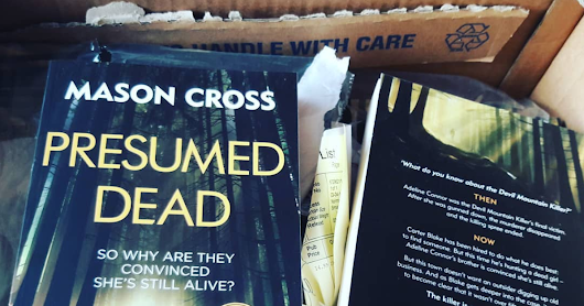 Author copies, and the first reviews of Presumed Dead