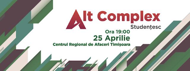 Alt Complex Studentesc la Timisoara - 25 aprilie