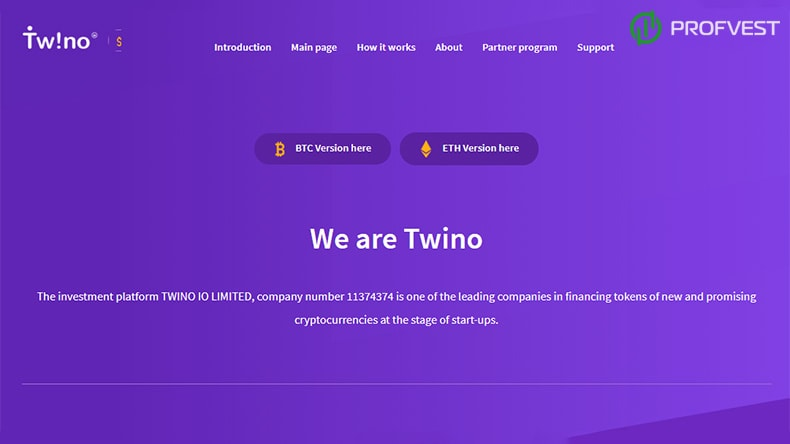 Twino обзор и отзывы HYIP-проекта