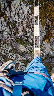 Seetalwanderung und Klettersteig Hochjoch  Silvretta Montafon 13