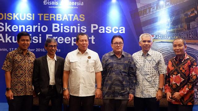Diskusi Terbatas: Skenario Bisnis Pasca Akuisisi Freeport-Grand Hyatt Jakarta