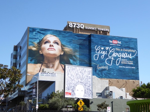 Giant Gigi Gorgeous This is Everything billboard