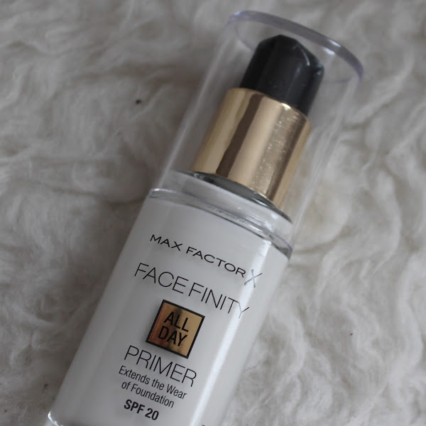 [Review] Max Factor - Face Finity All Day Primer