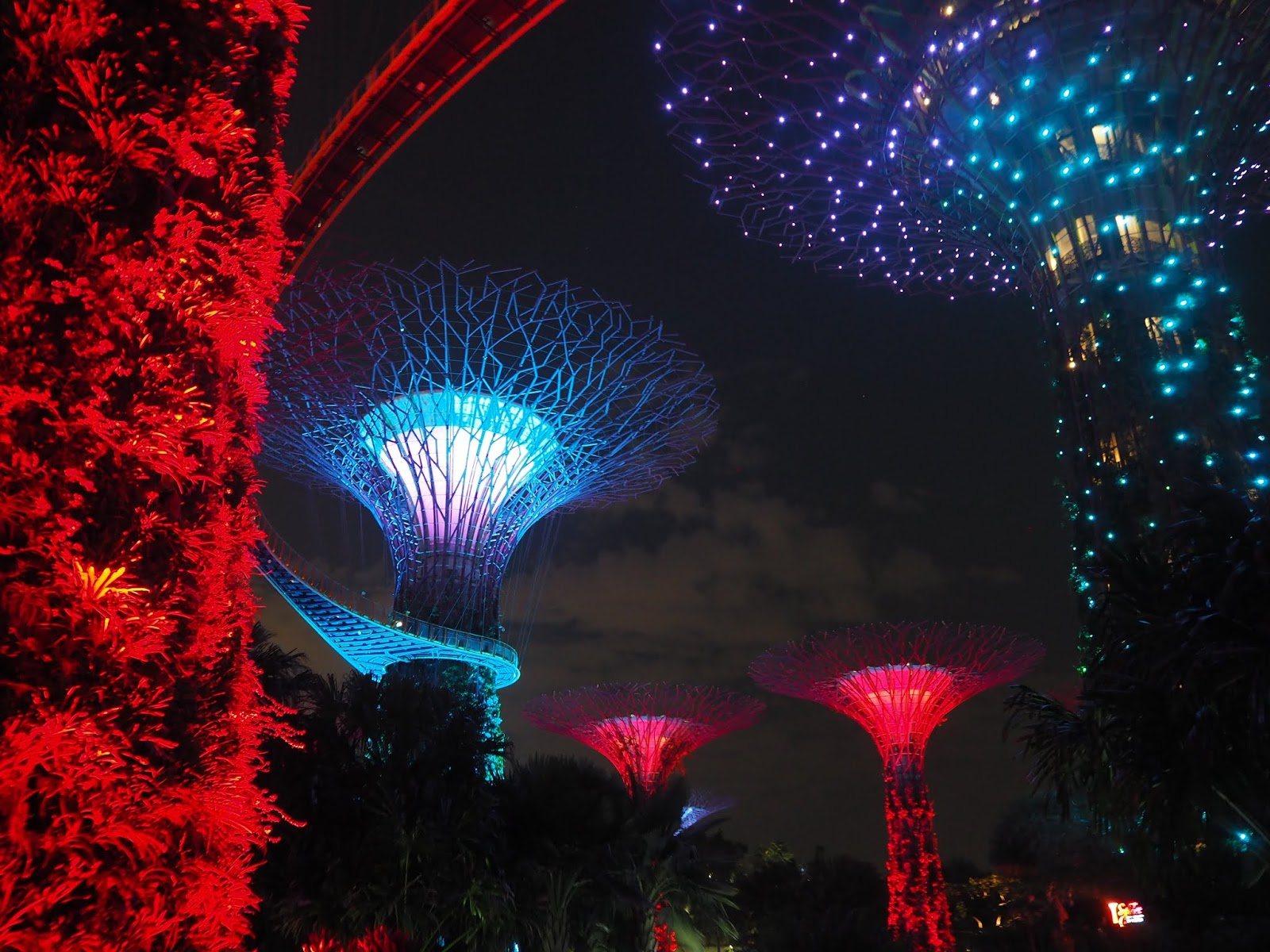 Light Shows in Singapore