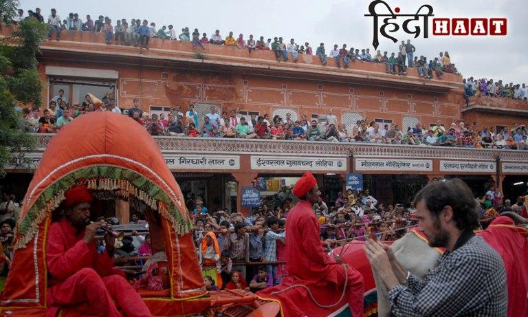 teej festival jaipur in hindi
