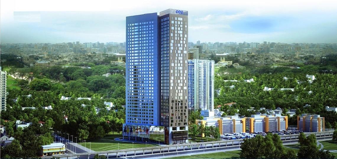 Phối cảnh tổng quan dự án FLC Green Home 18 Phạm Hùng
