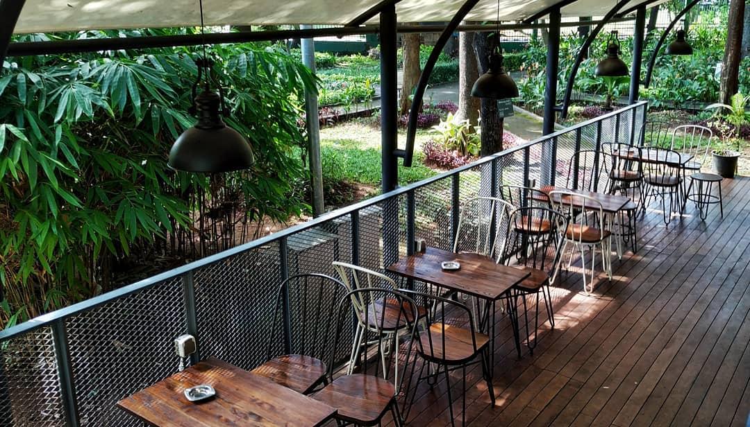 Lokasi, Harga Menu Arborea Cafe, Manggala Wanabakti, Jakarta