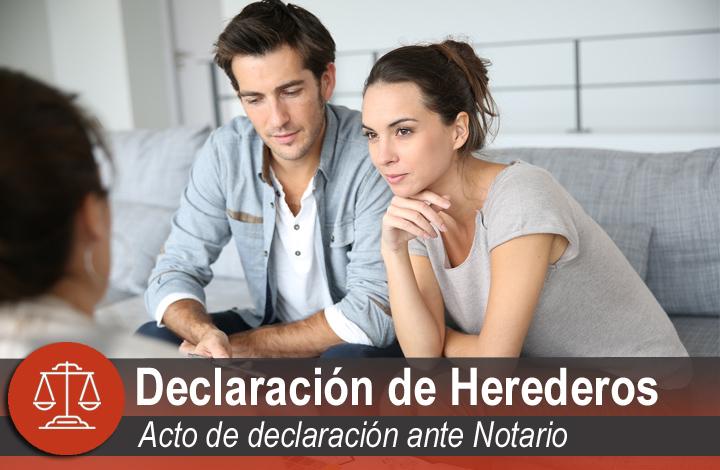 Declaración de herederos en Santander