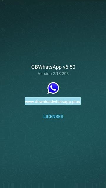تحميل واتس اب جي بي اتنفس هواك اخر اصدار | واتساب gb Download GBWhatsApp 6.50