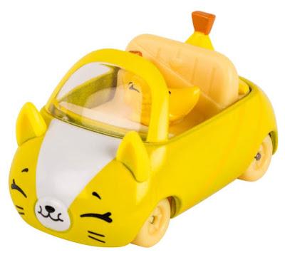 Банановая машинка Кьюти Карс желтая с бананом шопкинсом