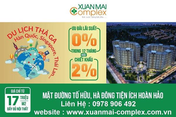Mua Nhà Liền Tay Trúng Ngay Tour Du Lịch Cùng Xuân mai Complex