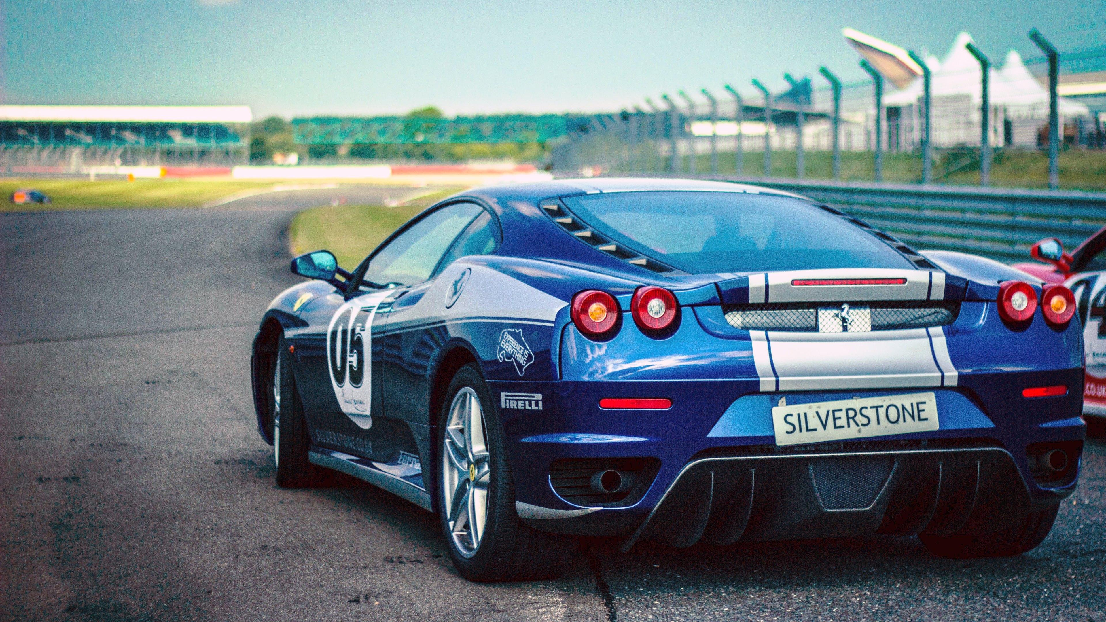wallpaper blue ferrari f430 - Ferrari 458 Blue Wallpaper