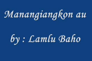 Kunci Gitar Lamlu Baho -  Manangiangkon au