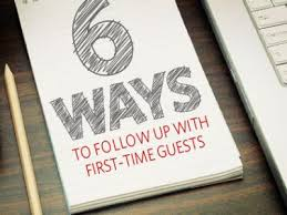 6 Effective Steps Follow Up With Visitors