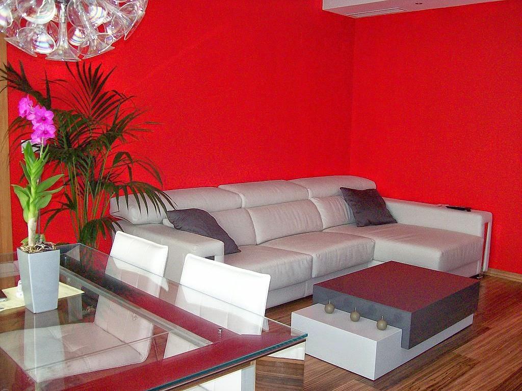 Muebles X Muebles Decorar la sala en color rojo