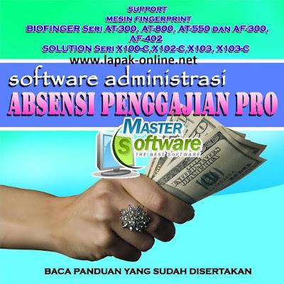 software payroll penggajian & absensi pro