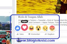 Wow ! Tombol Like Facebook Kini Berubah, Lebih Banyak Variasinya