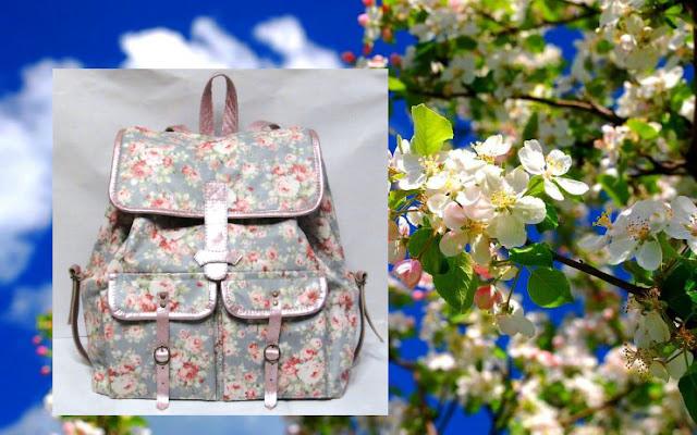 Водонепроницаемый рюкзак на лето: натуральный хлопок с ламинированным покрытием и натуральная кожа