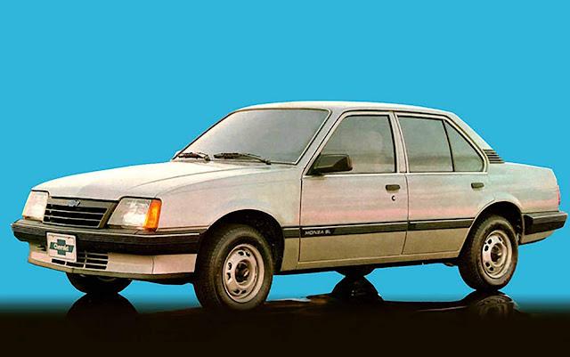 Chevrolet Monza SL 1985 Fase II
