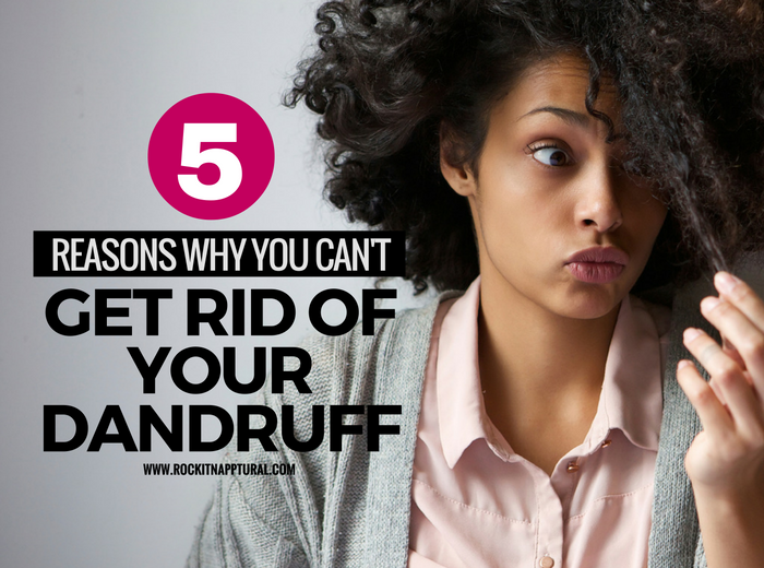 Dandruff and natural hair