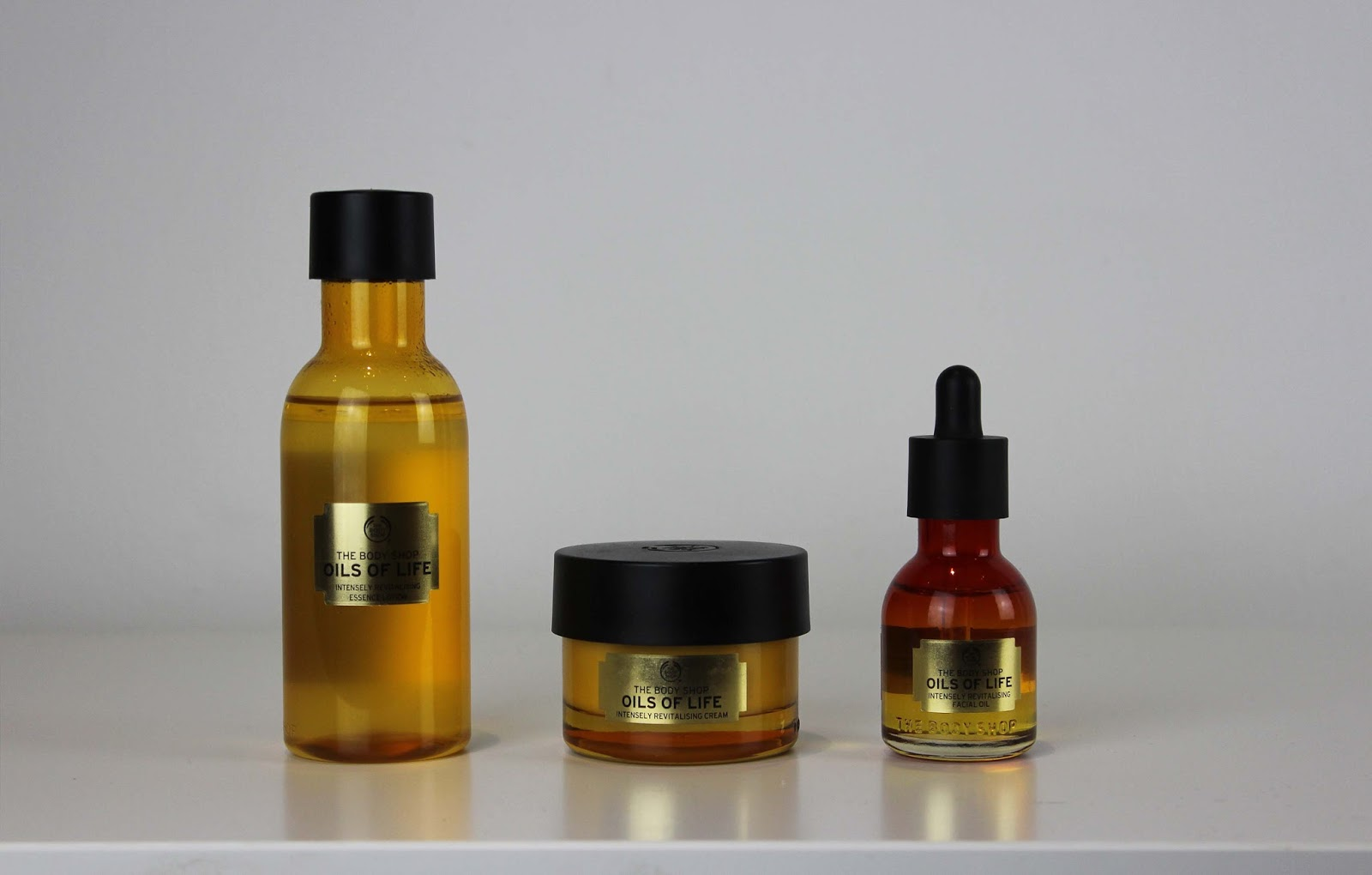 The oils of life from the body shop selected by blogger James Brown from getyourbronon for this months favourites