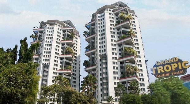 Perubahan Grand Tropic Suites Hotel