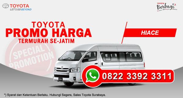 Promo Harga Toyota Hiace Surabaya