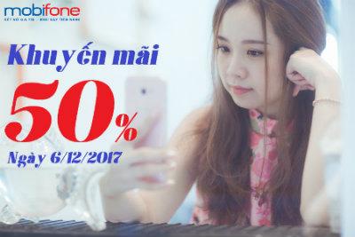 Mobifone khuyến mãi ngày 6/12/2017