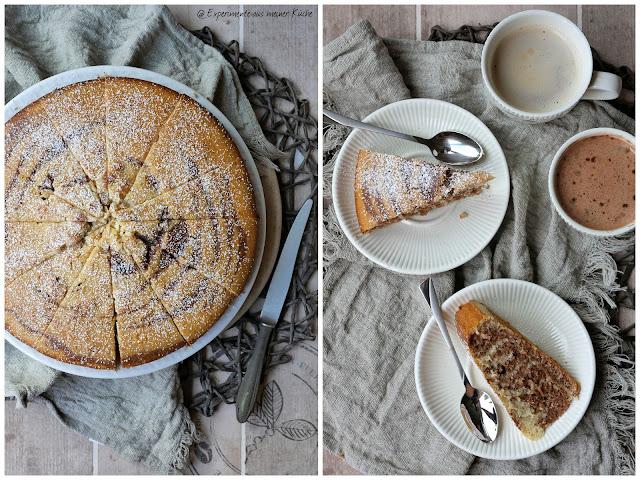 Cappuccino-Wölkchen-Kuchen | Zebrakuchen | Backen | Rezept