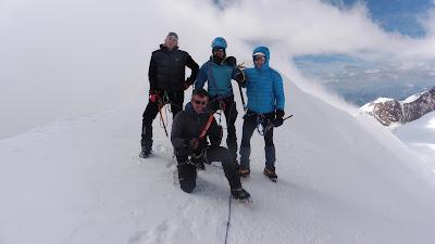 Parrotspitze-Alpes-Monte-Rosa-Enlacima
