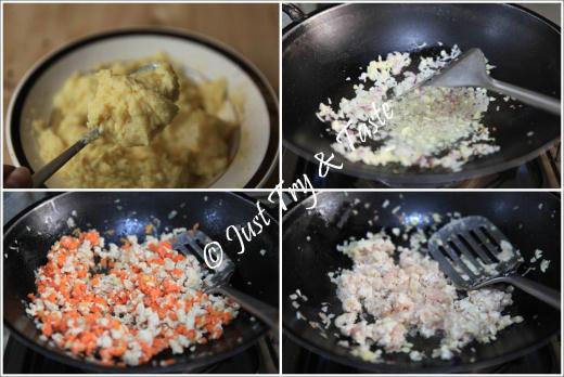 resep kroket kentang isi ayam dan wortel
