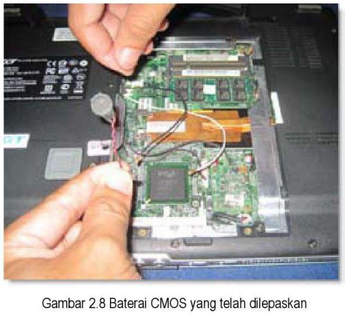 Baterai CMOS Laptop Rusak, Seperti Ini Cara Memperbaikinya
