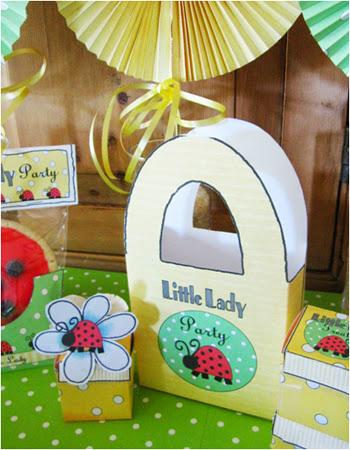 Sweet Ladybug: Free Printable Paper Bags.