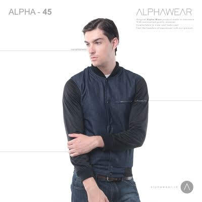 alphawear denim jacket