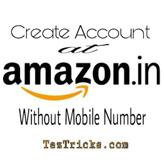 "Trick to Create Amazon account without Mobile Number - Few days back it was easy to create Amazon account without phone number but now ig is not Possible. So here we came with exclusive trick through which you can create Amazon account very easily. So further proceed and create Amazon account without phone number.   How To Create Amazon account without phone Number ? ?   ▪ Visit Here To Create Amazon Account Without Phone number. .  ▪ Or Simply Go to Amazon.com  ▪ Enter Your Name,Email Address, Chhose Password .  ▪ Click on "" Create Your Account "".  Boom!! YOU Created your Amazon account without phone number.   ▪ Now Visit Amazon.in and Login with the account which you created in STEP 1st.  Start Shopping. ..."