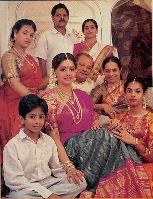 Sridevi With Sister Srilatha