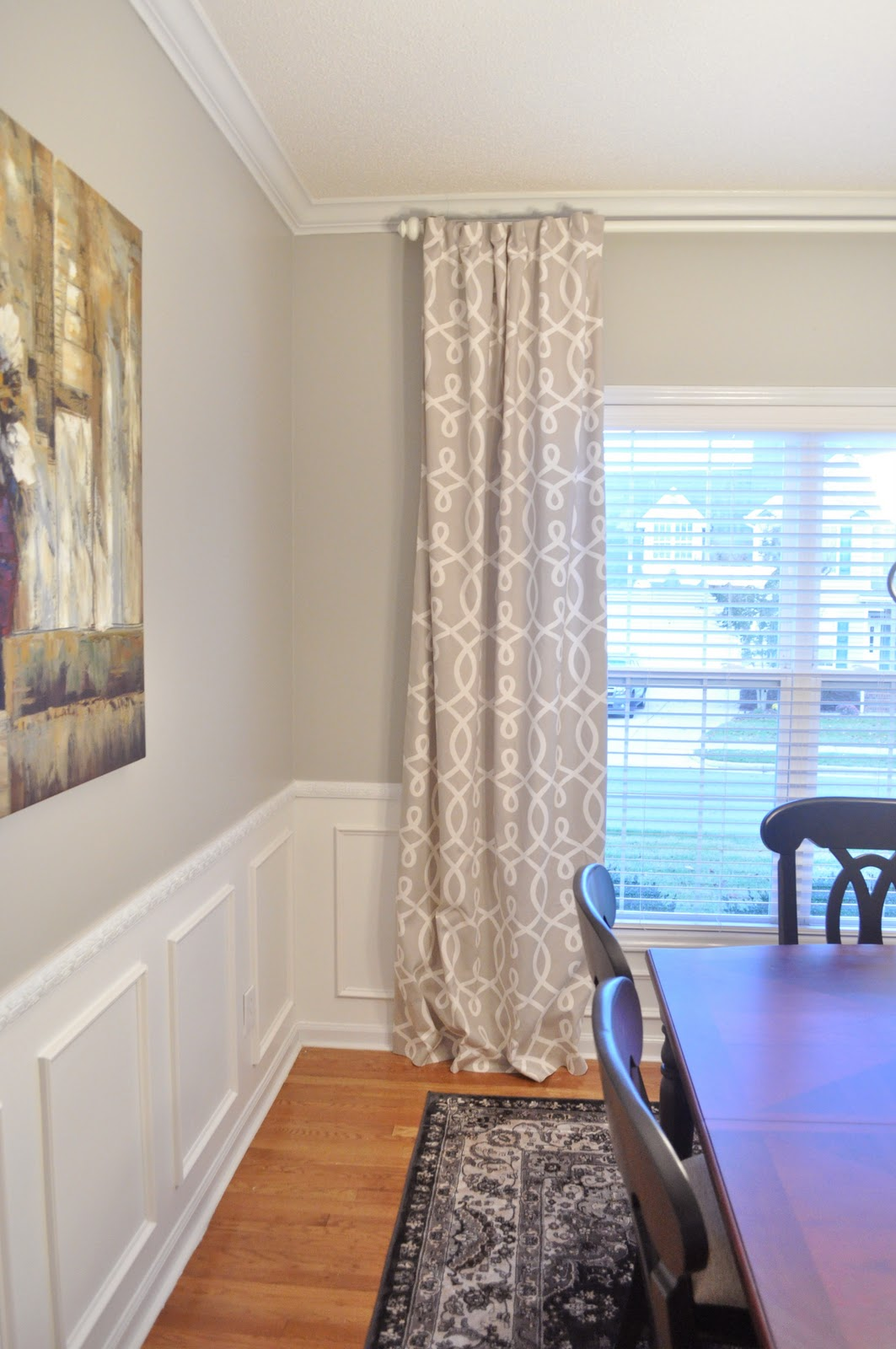 Not So Newlywed McGees: Dining Room Curtains on Dining Room Curtains  id=34358