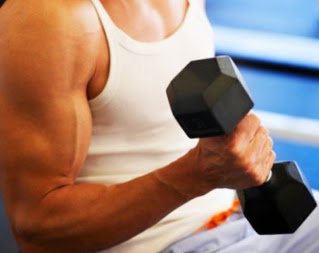 arms with muscles, muscles in the arms, arm exercises, man lifting dumbbells, workouts for arms, strong arms, arms marked definitidos arm muscles, arms enough muscle mass, muscular arms